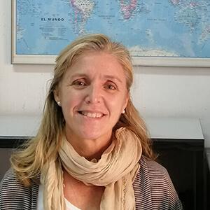 Mamen González. Coordinadora