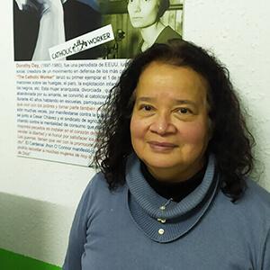 Norma Almao. Pedagoga y Doctora en Migraciones