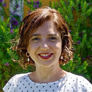 Raquel Capistrano. Coordinadora